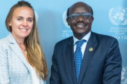 Dona Bertarelli named UNCTAD special adviser for the blue economy